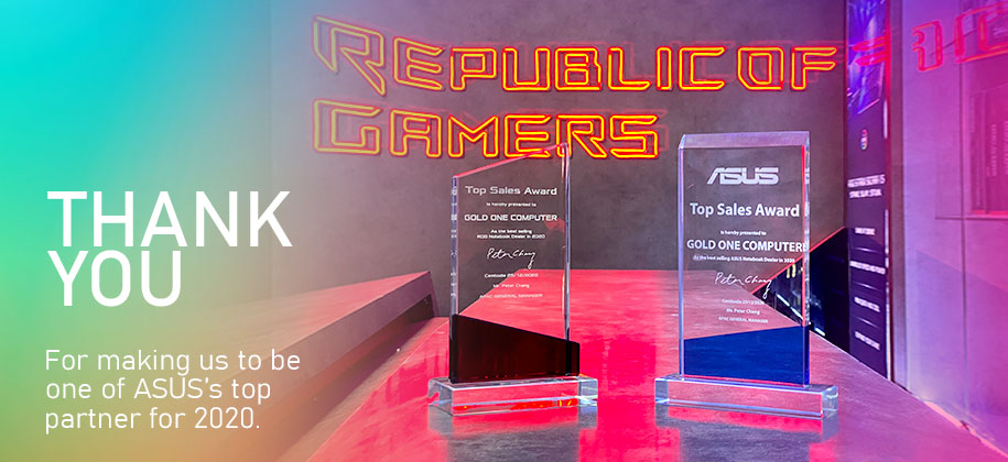 Asus Top Sales Award
