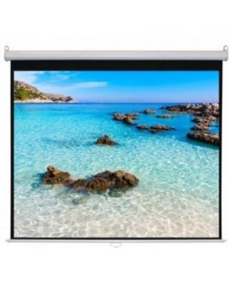 """TruVision motorized screen 1.8 x 1.8M matte white Auto Remote ( 70"""" x 70"""" / MC‐S70MC)"""