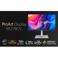 ASUS ProArt Display PA278CV Professional Monitor 2...