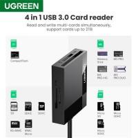UGREEN CR125 4‐In‐1 USB 3.0 Card Reader...