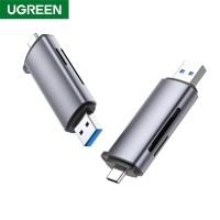 UGREEN CM185 2‐in‐1 USB‐C/USB‐A OTG Card Reader...