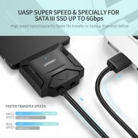 UGREEN CR108 USB 3.0 To 3.5''/2.5