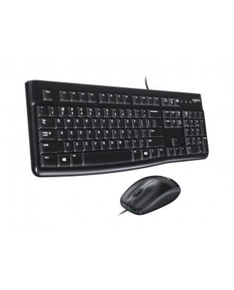 Logitech MK120 USB Keyboard and Mouse Combo