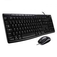 Logitech MK200 Multimedia Keyboard Mouse Combo...
