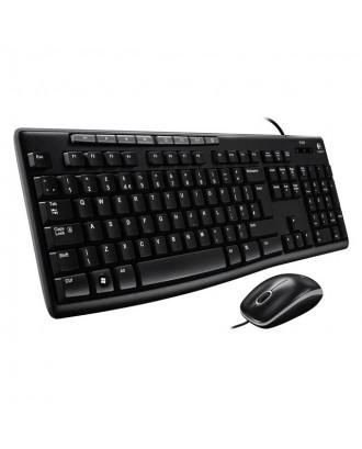 Logitech MK200 Multimedia Keyboard Mouse Combo