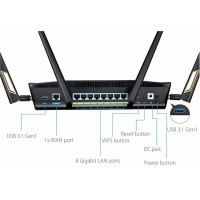 Asus RT-AX88U AX6000 Dual Band WiFi 6 Gaming Route...
