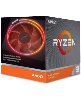 AMD Ryzen 9 3900X  ( 12 cores / 24 threads / 70MB Cache, 4.6 GHz)