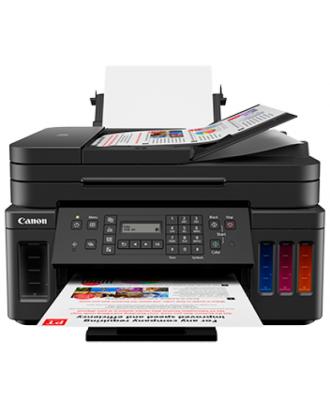 Canon PIXMA G7070 All-In-One Printer (Print, Scan, Copy, Duplex, Fax, Wireless)