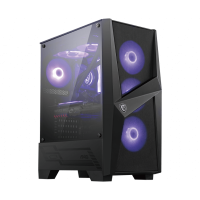 MSI MAG FORGE 101M ( Support ATX MB/ Tempered Glas...
