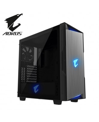 Auros AC300G ( Support ATX MB / USB 3.0 / Tempered Glass  )