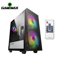 GameMax Aero ( Support ATX MB / Tempered Glass / I...