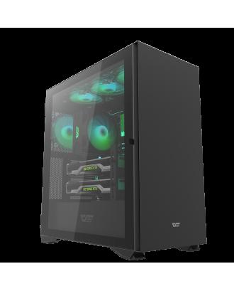 darkFlash DLX22 Balck ( Support ATX MB / USB 3.0 / Tempered Glass )