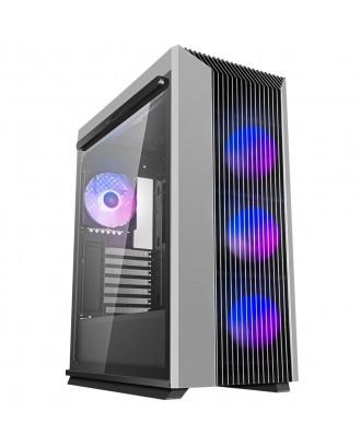 Deepcool CL500 ADD-RGB 4F ( Support ATX MB / USB 3.0 / Tempered Glass / Included ARGB Fan x 4)