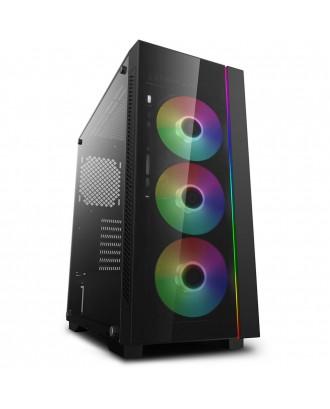 Deepcool MATREXX 55 ADD-RGB ( Support ATX MB / USB 3.0 / Tempered Glass )