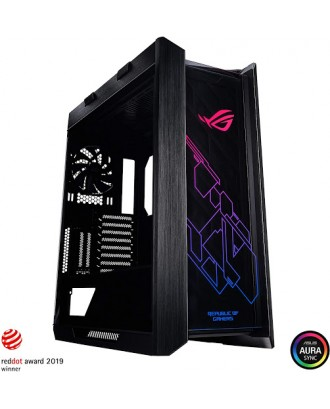 ROG Strix Helios ( Support EATX MB / USB 3.0 / Tempered Glass / Included 4 fans )