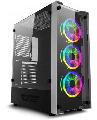 darkFlash Skywalker ( Support ATX MB / USB 3.0 / Tempered Glass )