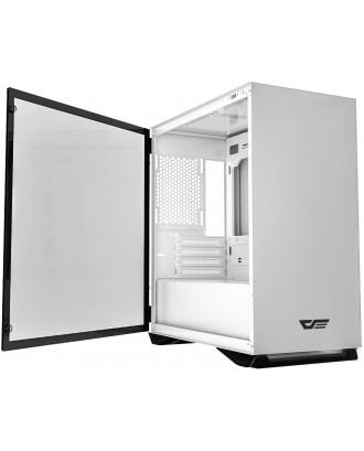 darkFlash DLM22 White ( Support M-ATX MB / USB 3.0 / Tempered Glass )