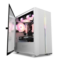 darkFlash DLM23 White ( Support M-ATX MB / USB 3.0...