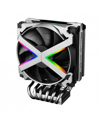 Deepcool Fryzen ( Aluminum built / 120mm High quality fan / 6 heat pin /Support only AMD / RGB Syn )