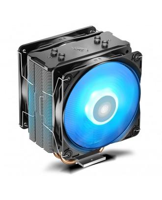 GAMMAXX 400 PRO (BLUE LED) ( 4 heat pipe/12cm Fan x 2 /Support AMD & Intel )