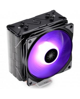 GAMMAXX GTE V2 ( 4 heat pipe/12cm Fan /Support AMD & Intel / RGB Sync )