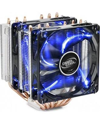 NEPTWIN V2 (BLUE LED) ( 6 heat pipe/12cm Fan x 2 /Support AMD & Intel )