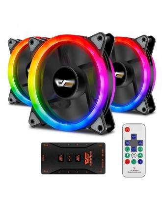 Aigo DR12 Pro 3 in 1 ( 3 x fans 12cm / ARGB Sync )