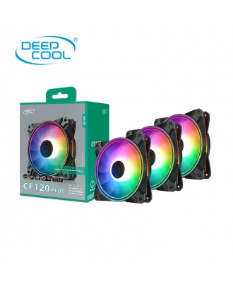 Deepcool CF120 PLUS 3 in 1 ( 3 x fans 12cm / ARGB Sync )