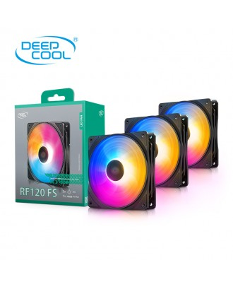 Deepcool RF120 FS ( 3 x fans 12cm / RGB Colorful  )