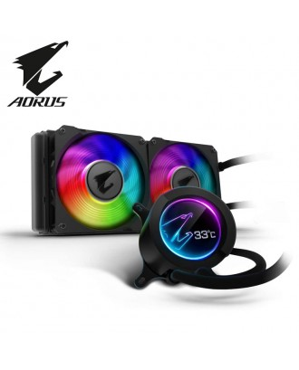 Aorus Liquid Cooler 240 ( Liquid Cooling Two Fans / Support Intel and AMD CPU)