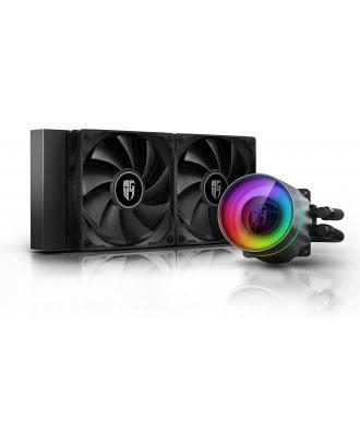 DeepCool Castle 240EX ( Liquid Cooling 2 Fans x 12CM / Support Intel and AMD CPU)