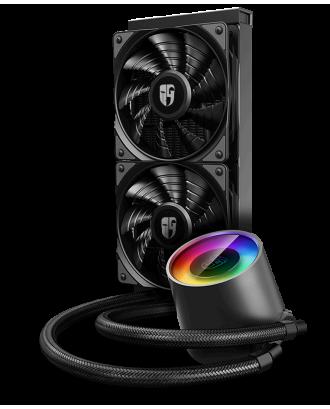 Deepcool Castle 240 V2 ( 240mm / ARGB Syn / Supported Intel & AMD )
