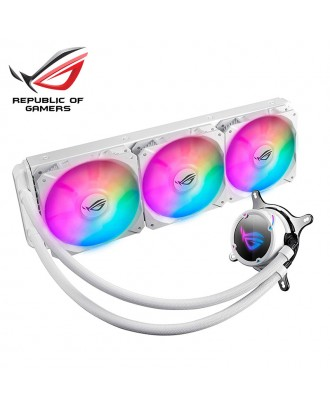 ROG STRIX LC 360 RGB White ( Liquid Cooling three Fans / Support Intel and AMD CPU)