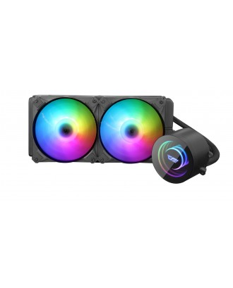 darkFlash DX240 ( Liquid Cooling Dual Fans / Support Intel and AMD CPU / ARGB Sync 5V )