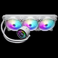 darkFlash DX360 White ( Liquid Cooling Three Fans ...