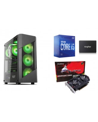 Desktop Gaming / Design ( i5 10400F / Ram 8GB / SSD 128GB+ HDD 1TB / GTX1050Ti 4GB )