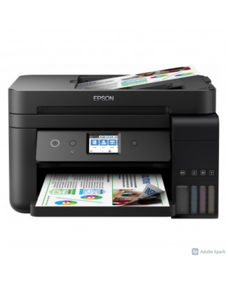 Epson L6190 Color Inkjet Printer (Print / Scan / Copy / Fax / Auto duplex print / Wifi / ADF)