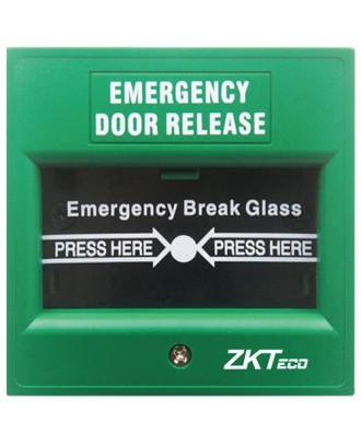 EB-900A ZKTeco Emergency Door Release, Green