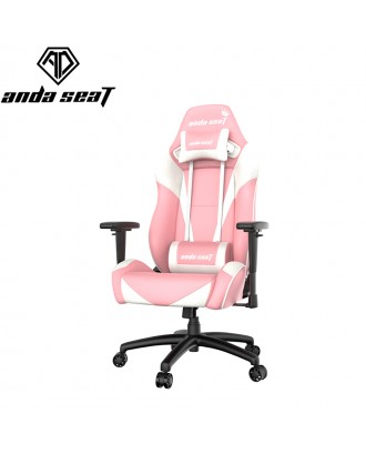 AndaSeat Pretty In Pink Gaming Chair (Pink&White)