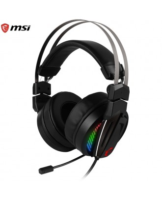 MSI GH70 Gaming Headset(Hi-Res / Enhanced Virtual 7.1 Surround Sound )