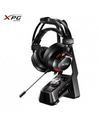 Adata EMIX H30 Gaming Headset + SOLOX F30 Amplifier(Sound 7.1/ Red Light / Vibration )