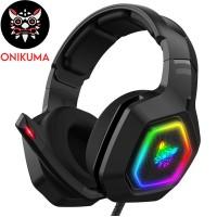 ONIKUMA K10 Gaming Headset Stereo Bass Surround RG...