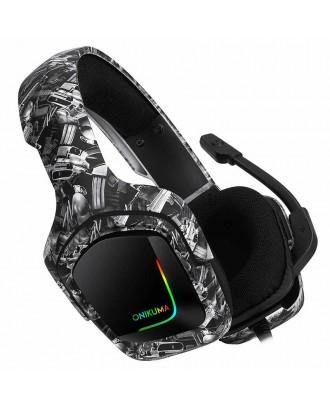 ONIKUMA K20 RGB Light Gaming Headset