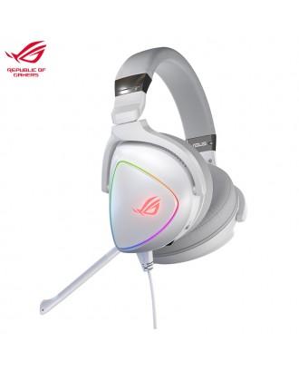 ASUS ROG Delta White ( 7.1 Sound / RGB light /Hi-Res ESS Quad-DAC )