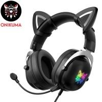 ONIKUMA X11 CAT EAR GAMING HEADSET (black Color )...