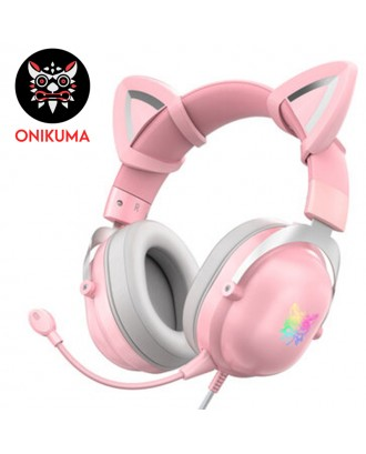 ONIKUMA X11 Cat Ear Gaming Headset
