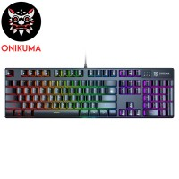 ONIKUMA G27 Mechanical Gaming Keyboard...