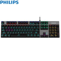 Philips G404 (SPK8404) USB Wired Mechanical Gaming...