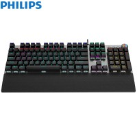 Philips SPK8614 USB Wired Mechanical Gaming Keyboa...