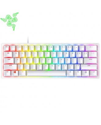 Razer Huntsman Mini - Mercury Edition - 60% Optical Gaming  Keyboard (Clicky Purple Switch)